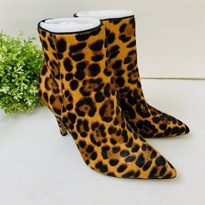 Vince Camuto Nandi2 Pointed Toe Ankle Boot Leopard